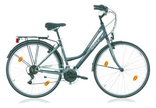 vélo de ville AVENUE 28 gris