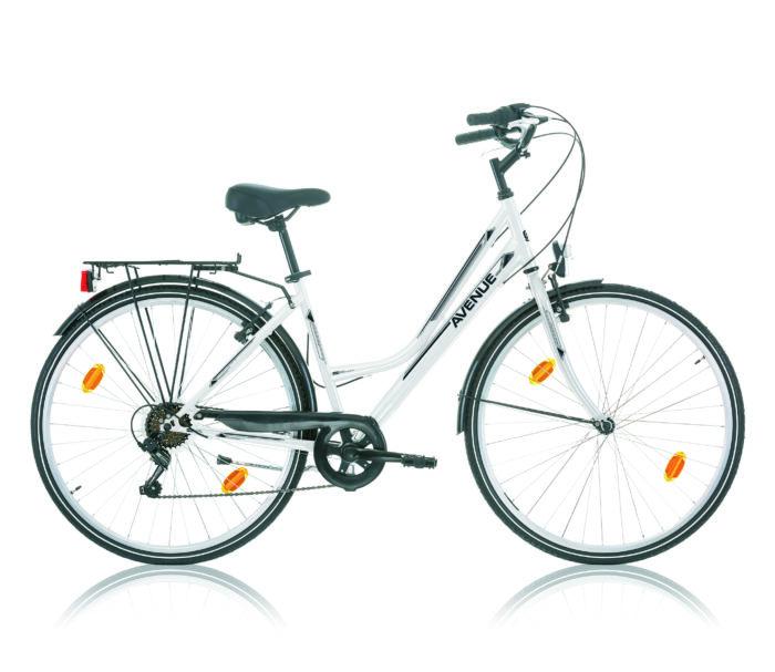 vélo de ville AVENUE 28 BLANC