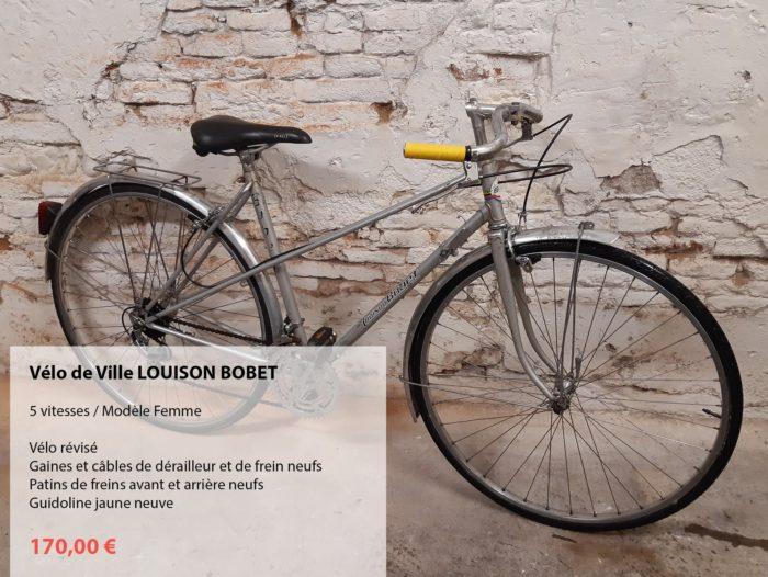 vélo d'occasion révisé Louison BOBET dame