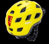 casque vélo KALI TRAFFIC JAUNE ECLAIRAGE