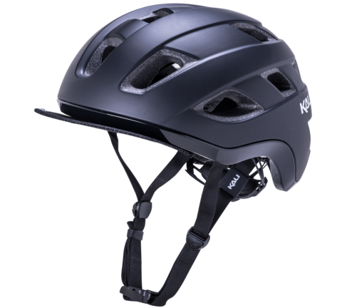 CASQUE VELO TRAFFIC-NOIR-MAT-PROFIL